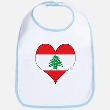 Lebanon Heart Bib