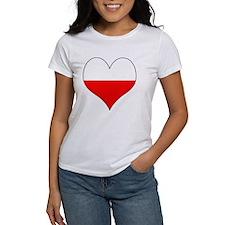Poland Heart Tee