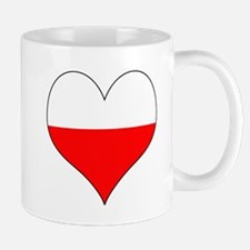 Poland Heart Mug