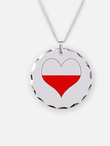 Poland Heart Necklace