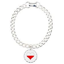Poland Heart Charm Bracelet, One Charm