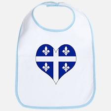 Quebec Heart Bib