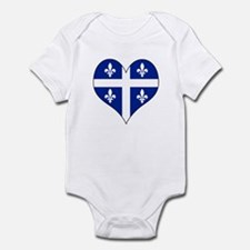 Quebec Heart Infant Bodysuit