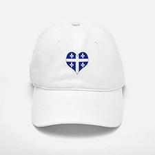 Quebec Heart Baseball Baseball Cap