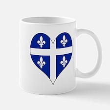 Quebec Heart Mug