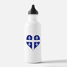 Quebec Heart Water Bottle