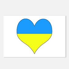 Unique Ukranian Postcards (Package of 8)