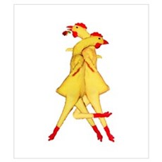 Rubber Chicken Tango Poster