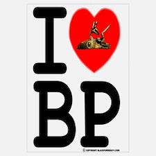 I Love (heart) Black Powder