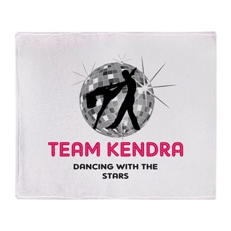 Dancing with the stars Throw Blanket