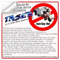 Say no tasers it's the new ex Wall Decal