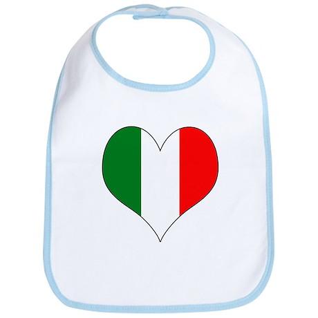 Italy Heart Bib