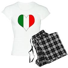 Italy Heart Pajamas