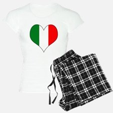 Italy Heart Pajamas