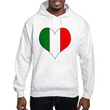 Italy Heart Hoodie