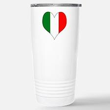 Italy Heart Travel Mug