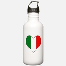 Italy Heart Water Bottle
