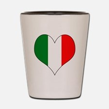 Italy Heart Shot Glass