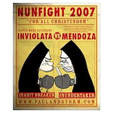 Nun Fight Poster
