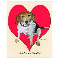 Daisy the Beagle Poster