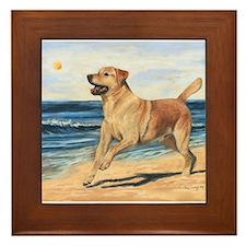Labrador Framed Tile