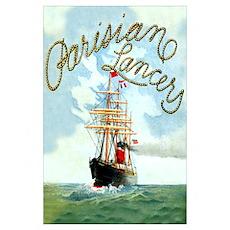 Parisane Tall Ship Poster