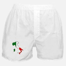 Italy Map Boxer Shorts