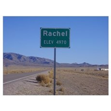 Rachel Sign Framed Print