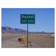 Rachel Sign Poster