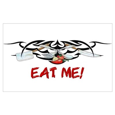 Eat Me Canvas Art