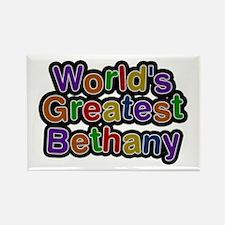 World's Greatest Bethany Rectangle Magnet