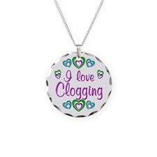 I Love Clogging Necklace