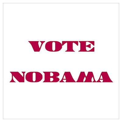 Vote NObama Poster