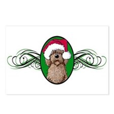 Santa Chocolate Doodle Postcards (Package of 8)
