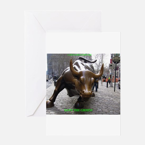 CAPITALI$M FOREVER! Greeting Card