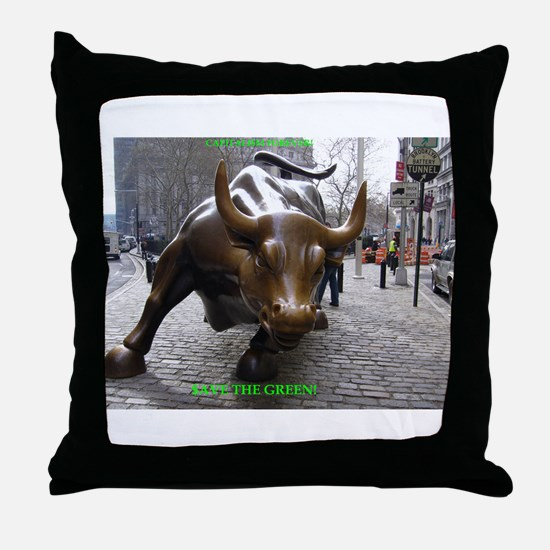 CAPITALI$M FOREVER! Throw Pillow