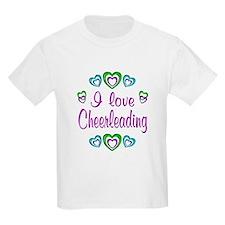 I Love Cheerleading T-Shirt