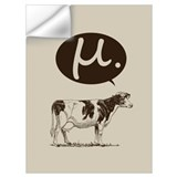 Mu cow Wall Decals