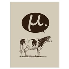 Mu Cow Framed Print