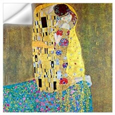 Gustav Klimt The Kiss Medium Wall Decal