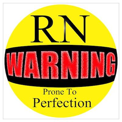 Warning RNs Poster