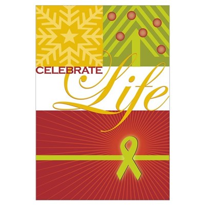 Celebrate Life Holiday Collection Prin Poster