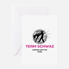 Team Schwaz Greeting Card