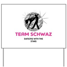Team Schwaz Yard Sign