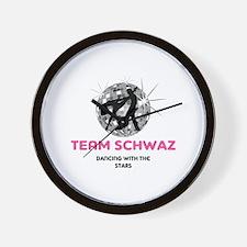 Team Schwaz Wall Clock