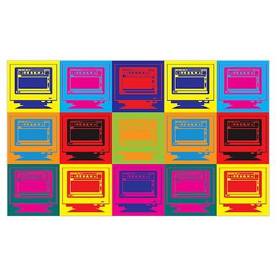 Desktop Publishing Pop Art Poster