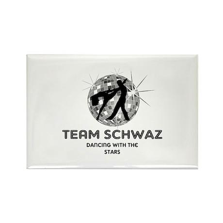 Team Schwaz Rectangle Magnet (10 pack)