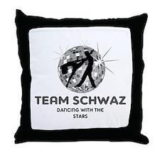 Team Schwaz Throw Pillow