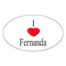 Fernanda Oval Decal