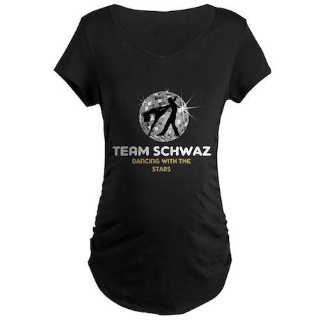 Team Schwaz Maternity Dark T-Shirt